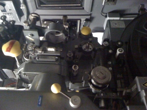 35mm projector at Watershed
